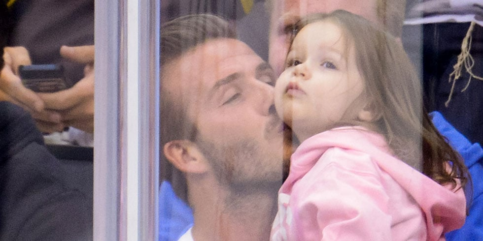 The Beckhams Reunite With Tom Cruise and Squeeze In a Kiss!