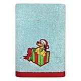 Disney Holiday Bath Towel