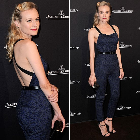 Diane Kruger Wearing a Jumpsuit | November 21, 2012