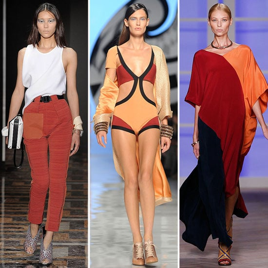 Spring 2012 Cool Colour Combo: Red + Orange