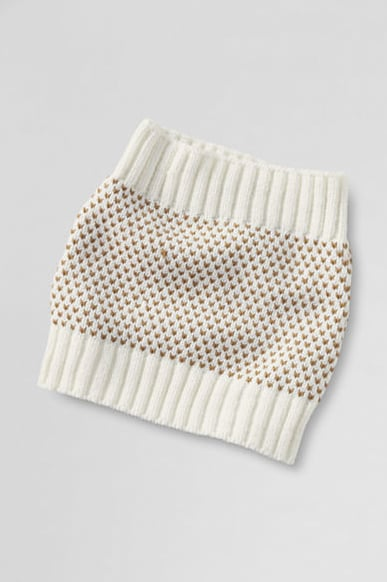 We love a snood — especially when it looks like this Lands' End birdseye one ($24).