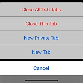 How to Close All iPhone Safari Tabs at the Same Time