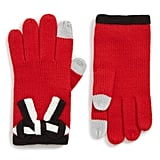 Kate Spade New York Bow Appliqué Gloves