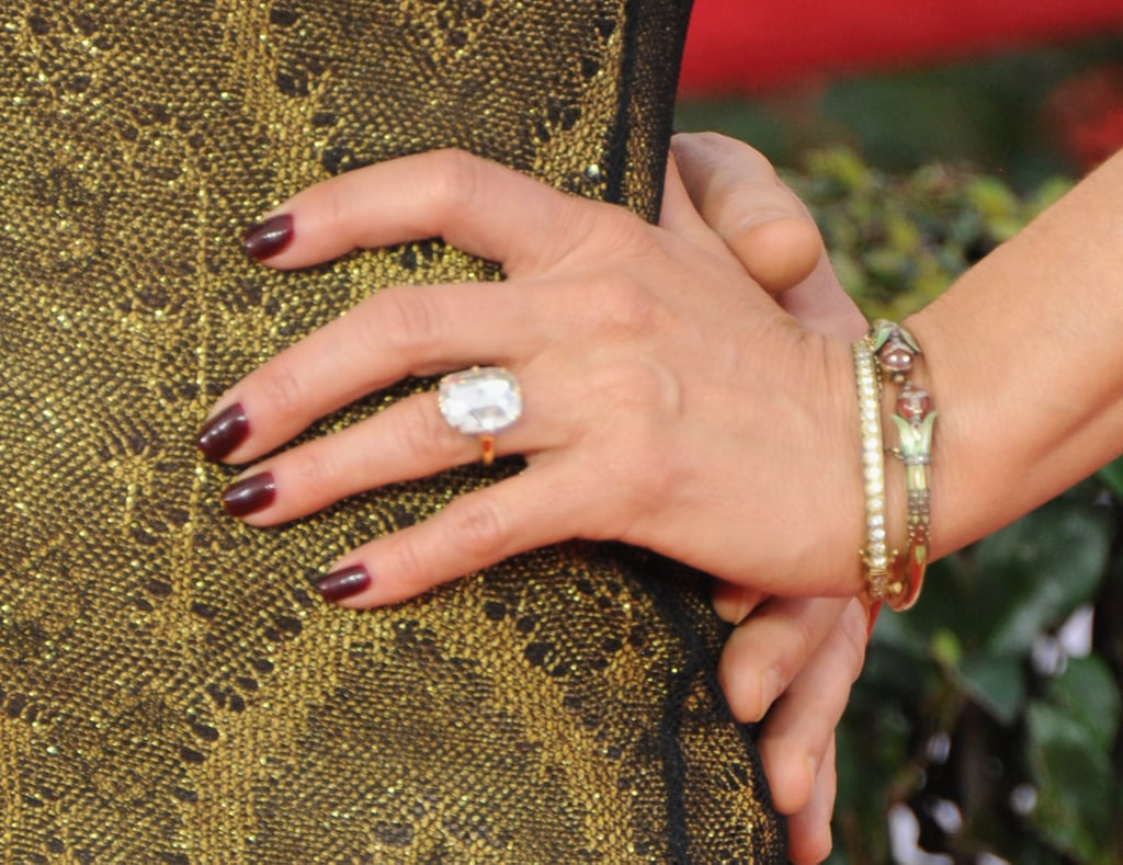 A Close Up of Her Ring at the 2015 Screen Actors Guild Awards