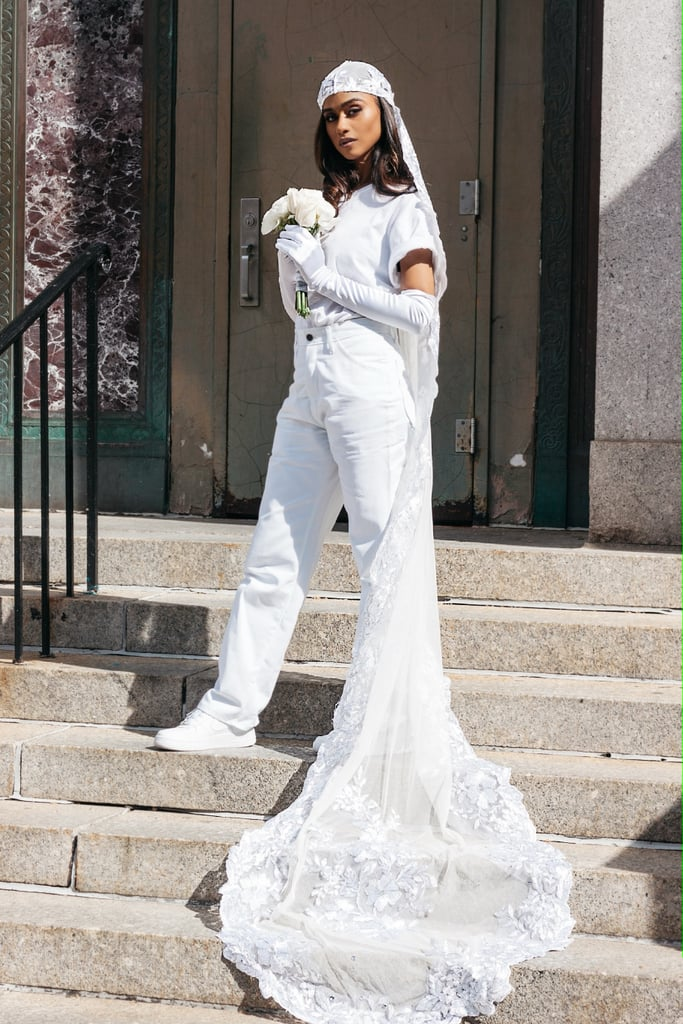 Vashtie's City Hall Wedding Outfit