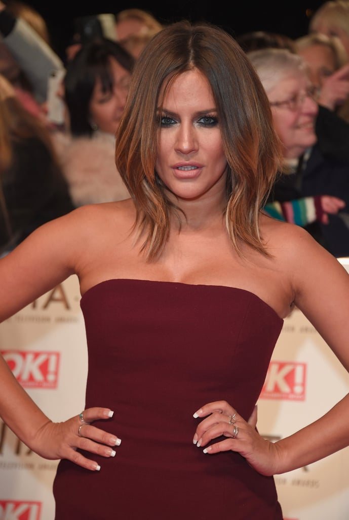 National Television Awards Hairstyles 2017