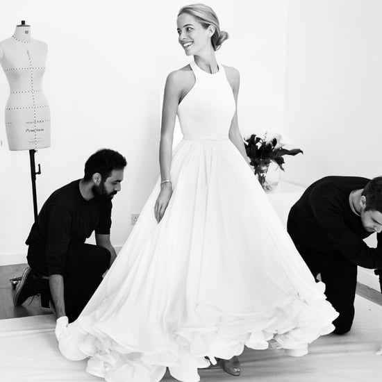 Mary Katrantzou Designing a Wedding Dress
