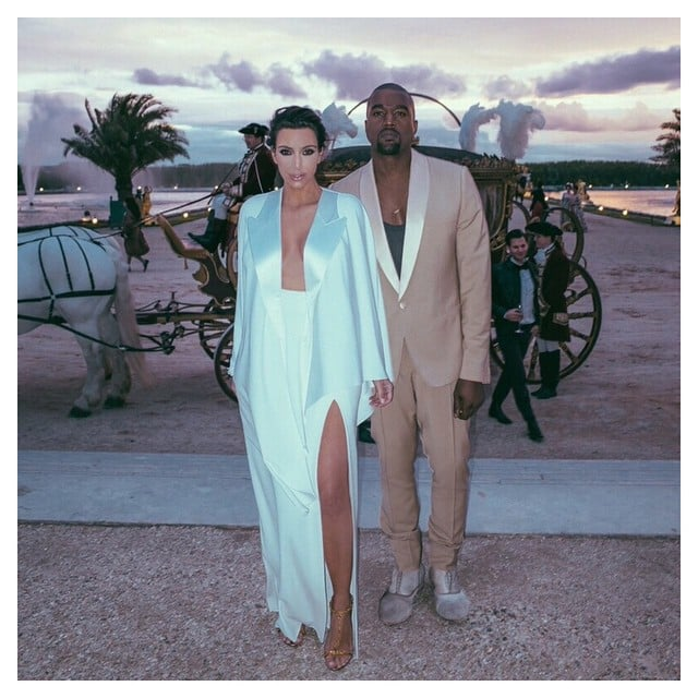 Kim Kardashian And Kanye West Wedding Pictures and Details ...