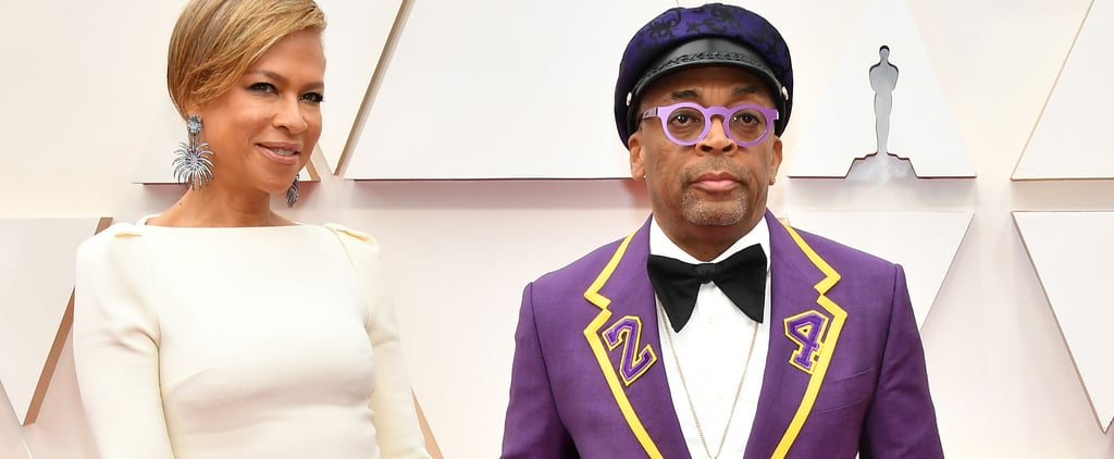 Spike Lee's Suit Honoured Kobe Bryant at the Oscars