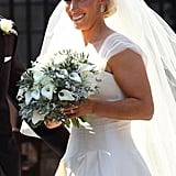 Wedding Flowers: Zara Phillips