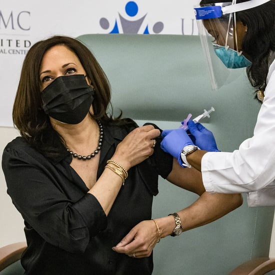 Watch Kamala Harris Get the Moderna COVID-19 Vaccine