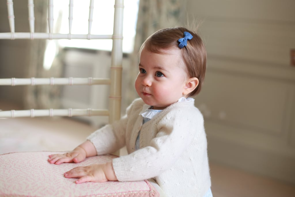 Princess Charlotte looked all grown up during her precious photoshoot released ahead of her first birthday in May.