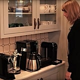 Taylor loves coffee (which, same) and owns a few machines in order to make the perfect drink.