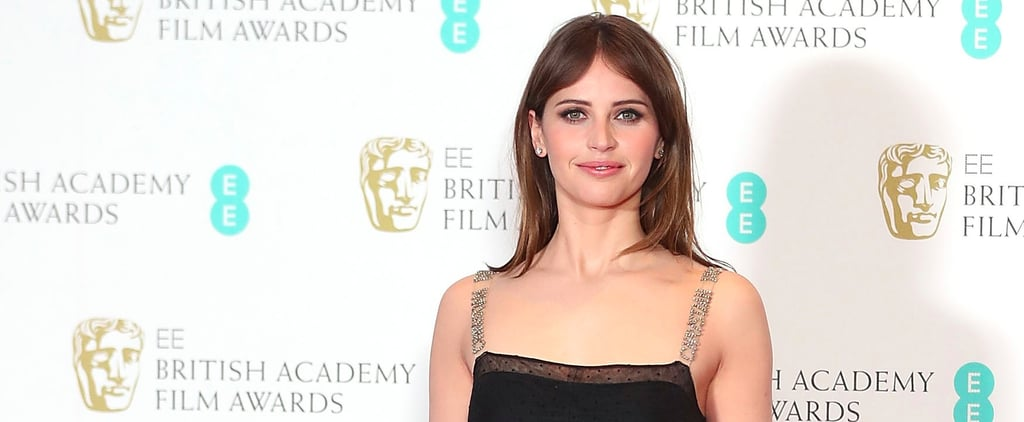 You Don't Need to Look Far to Find Out Who Designed Felicity Jones's Dress