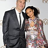 Thandie Newton and Ol Parker in Los Angeles, 2017