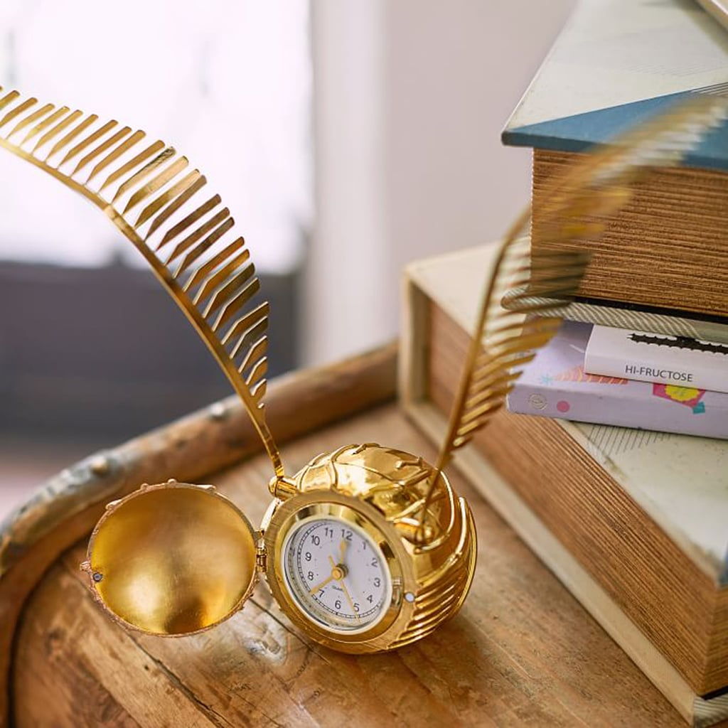 Harry Potter Golden Snitch Clock