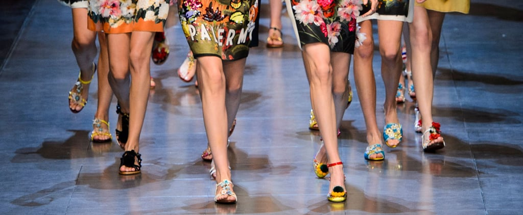 "The Spring '16 Runway Shows That Had Us Like ""OMG, Shoes"""