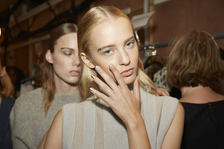 Check out 12 Nail Art Designs WE LOVED From New York Fashion Week 2016 at https://makeuptutorials.com/nail-art-new-york-fashion-week-spring-2016/