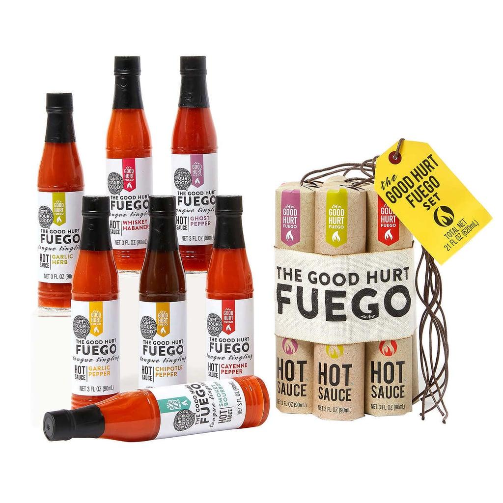 The Good Hurt Fuego Hot Sauce Sampler Gift Set