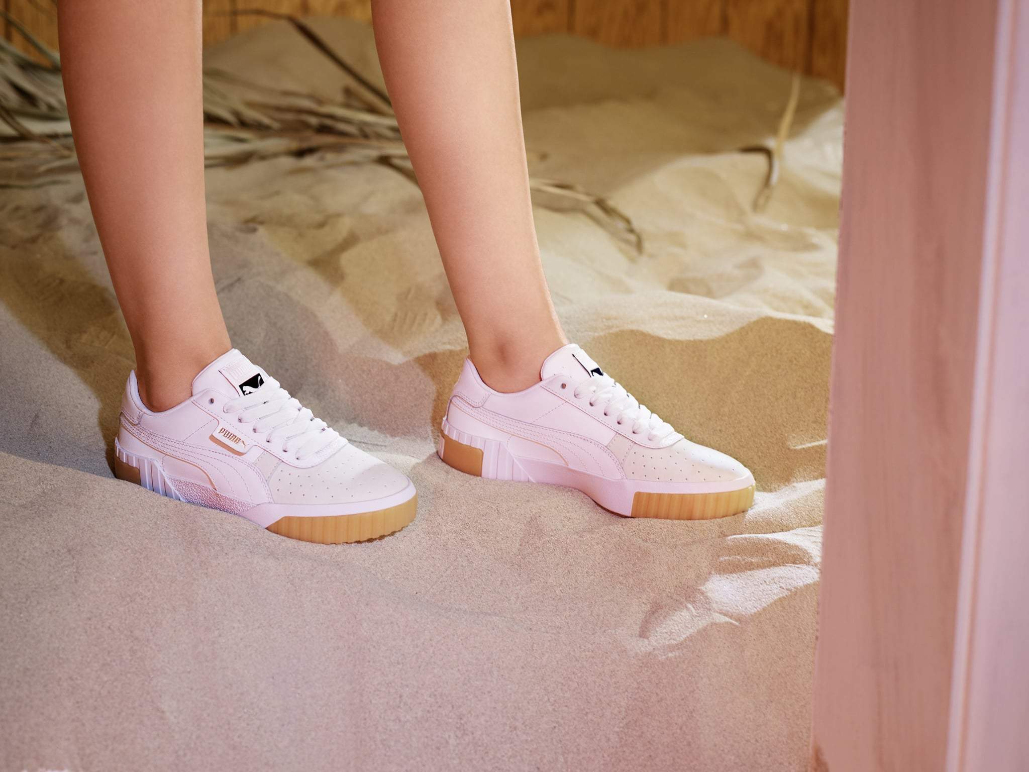 Selena Gomez Puma Cali Exotic Sneakers Campaign 2019 ...