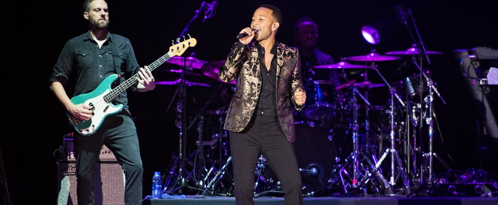 16 Pictures That Put You Front Row For John Legend and Ricky Martin at Dubai Jazz Festival