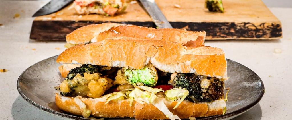 MasterChef Simon Toohey's Deep-Fried Broccoli Po' Boy Recipe