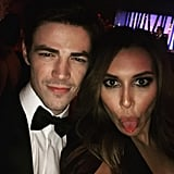 """""""When you find the flash...#goldenglobes"""""""
