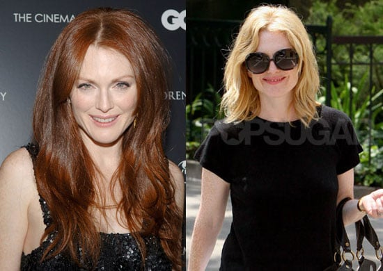 Do You Prefer Julianne Moore as a Redhead or a Blonde?