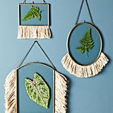 There are a few different shapes available for these Anthropologie Fringed Hanging Frames ($32).