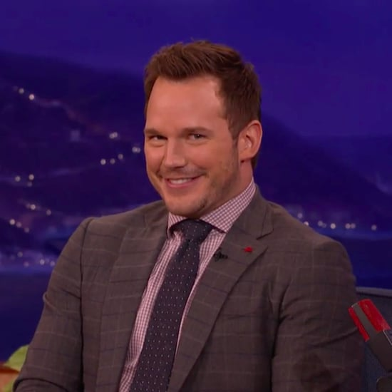 Chris Pratt Tells German Joke on Conan December 2016