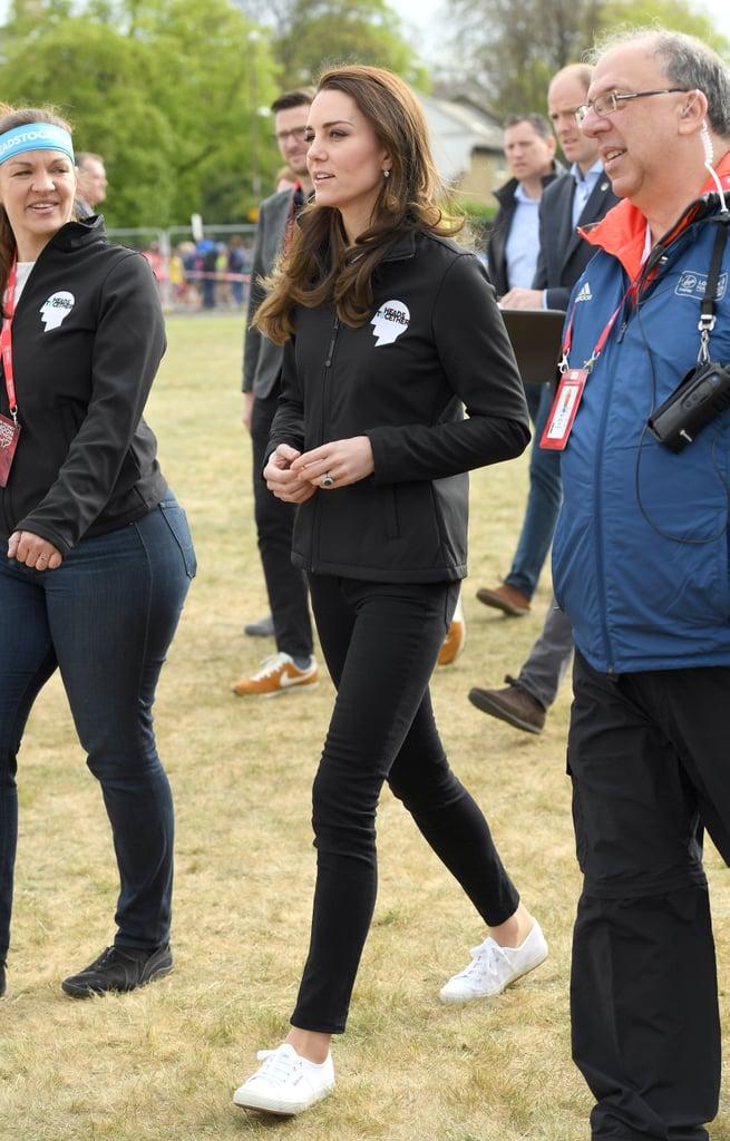 Kate Middleton Wore Superga Sneakers in London