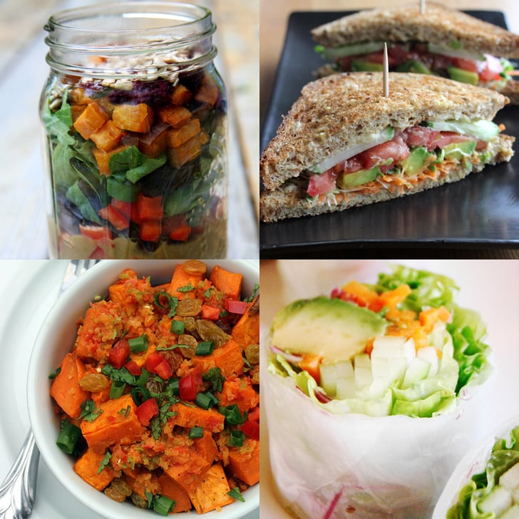 vegan lunches you can take to work popsugar fitness