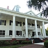 I'm still not over the fact that I got to stay in the old Lockwood estate. If your memory is a little fuzzy, the home is shown in season two, episode four, in flashbacks of 1864. The real place is called The Twelve Oaks Bed & Breakfast, and it is even more gorgeous inside. It even has a Salvatore-inspired room!