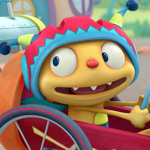 Henry Hugglemonster on Disney Junior Starting April 15