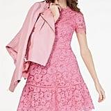 MICHAEL Michael Kors Lace Fit & Flare Dress