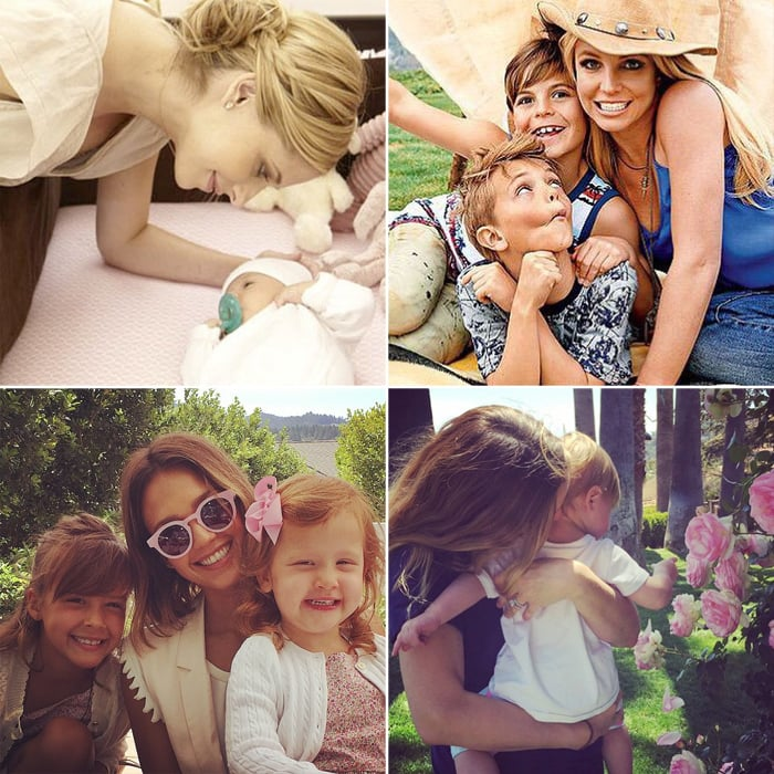 Celebrity Photos From Mother's Day 2015