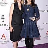 Cynthia Nixon posed with designer Temple St. Clair in NYC.