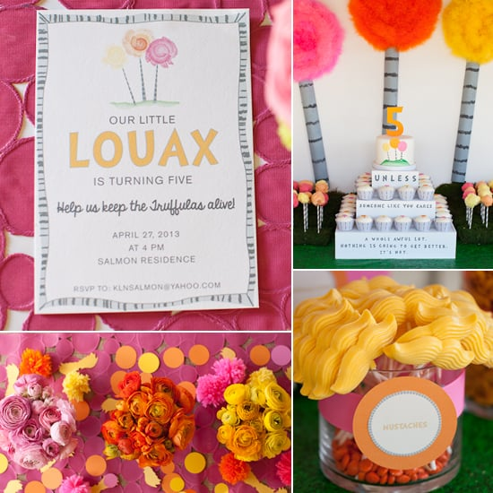 A Girlie Lorax Party For Little Lou!