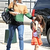 Katie Holmes and Suri Cruise Step Out in Heels For a Fun NYC Day