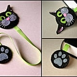 Felt Cat Bookmark ($14)