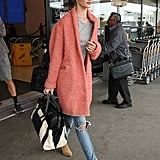 Style Your T-Shirt With: Jeans, a Coat, and Boots