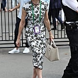 Anna Wintour at Day 7 of Wimbledon
