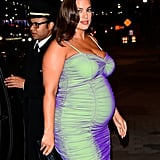 Ashley Graham Is Glowing in This Iridescent Bodycon Dress