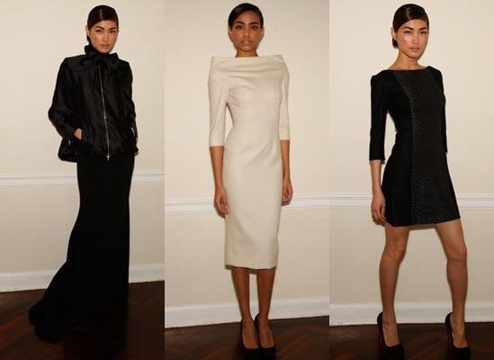 Victoria Beckham Presents Autumn Dress Line in New York