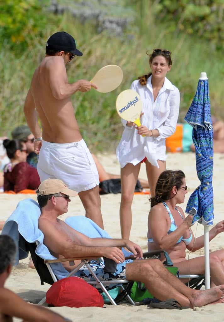 Olivia Palermo Busts Out a Bright Bikini For More Beach PDA With Johannes