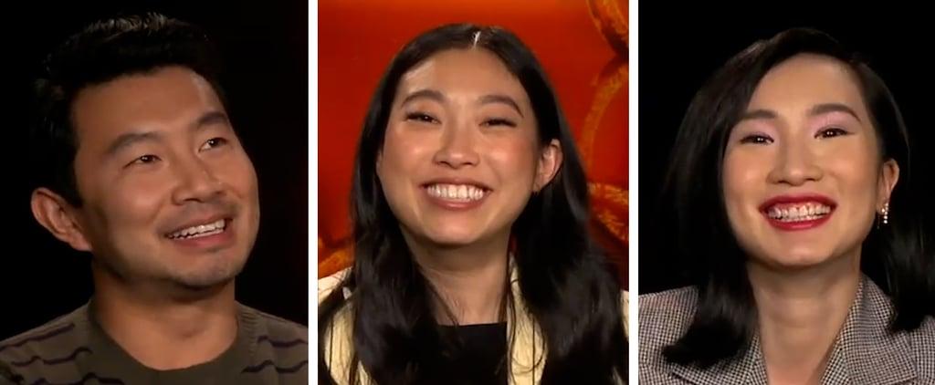Simu Liu Awkwafina and Shang-Chi Cast Interview Video