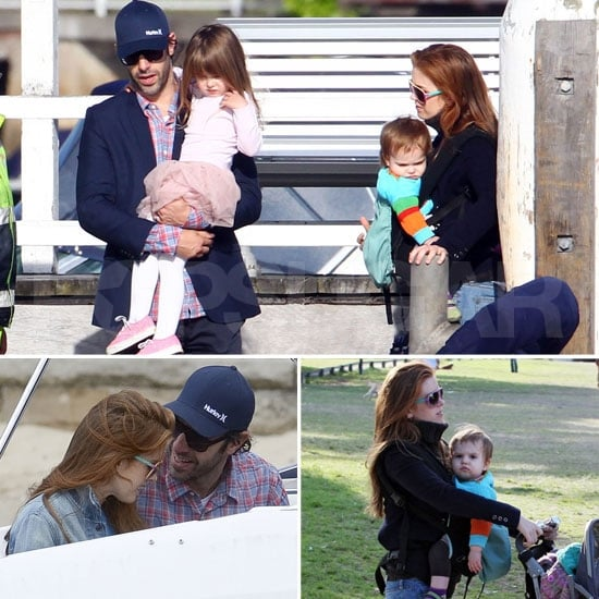 Sacha Baron Cohen Celebrates 40 on a Boat Ride With Isla, Olive, and Elula