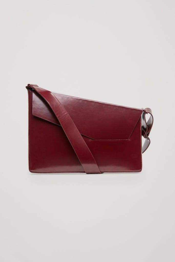 COS Asymmetric Leather Bag