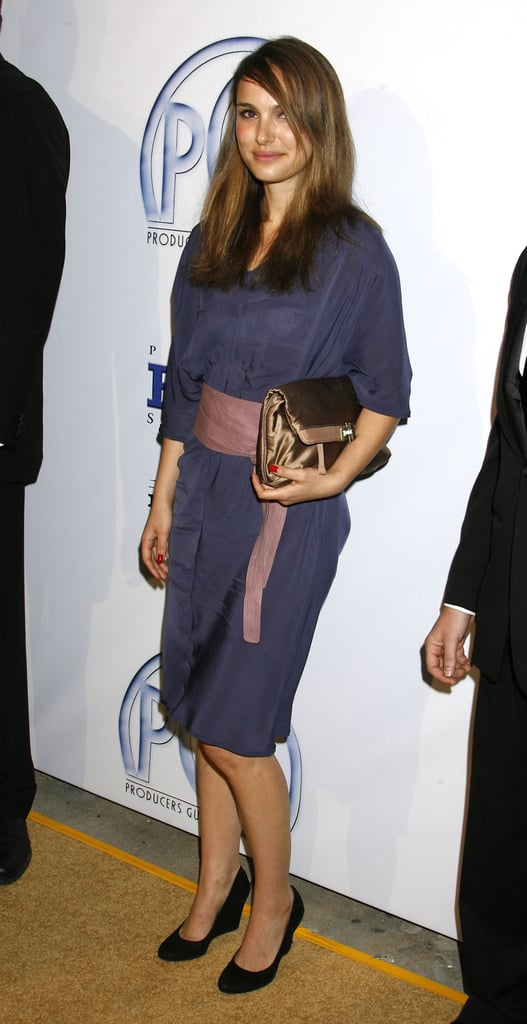Natalie Portman in a Wrap Dress at the 2009 Producers Guild Awards