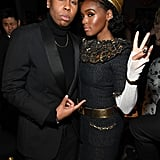 Lena Waithe and Janelle Monáe radiated success as they took a picture together at an afterparty in 2019.